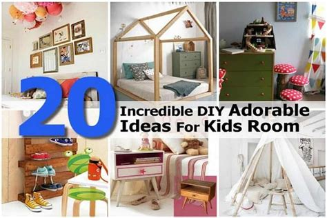 Incredible Diy Adorable Ideas For Kids Room