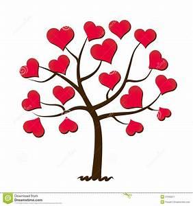 Baum Der Liebe : baum der liebe vektor abbildung illustration von februar 37542977 ~ Eleganceandgraceweddings.com Haus und Dekorationen