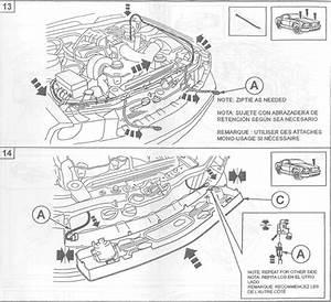 Mustang Gt Style Pony Delete Grille W   Fog Lights   U0026 39 05