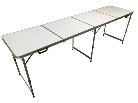 8ft Aluminium Lightweight Folding Table