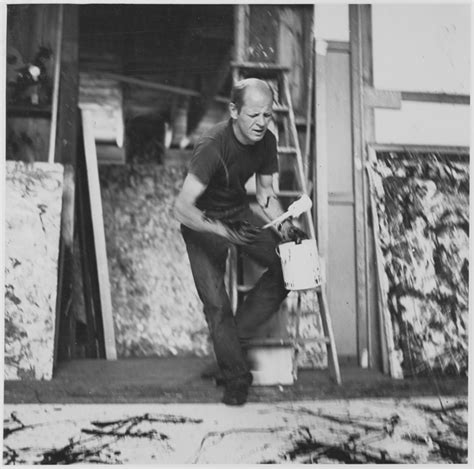 Jackson Pollack at work