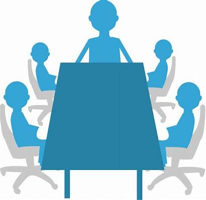 Clipart Meeting Board Committee Important Director Transparent