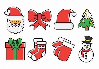 Weihnachten Vektor Icons Kostenlos Vecteezy Pack Weihnachtsmotiv