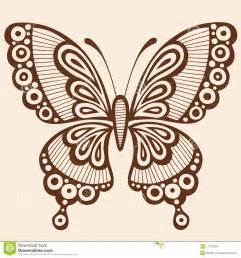Silhouette Butterfly Design