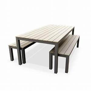 Table Et Banc De Jardin : banc table jardin inds ~ Melissatoandfro.com Idées de Décoration