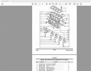 Komatsu Forklift Trucks Series Fg Fd