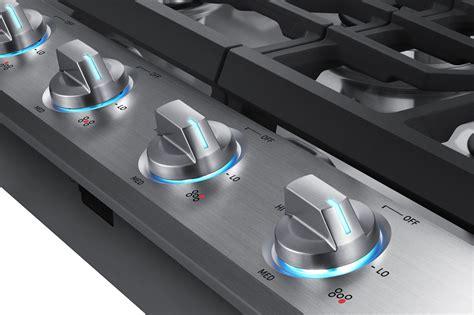 nakts samsung  gas cooktop  burners stainless steel
