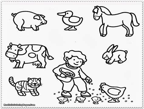 farm coloring pages  preschool coloring home