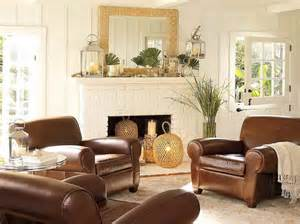ideas for decorating around brown leather sofa family room living room