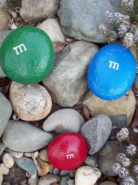 m m s painted stones 1001 gardens