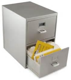 Locked Filing Cabinet by Mini Business Card File Cabinet Thinkgeek