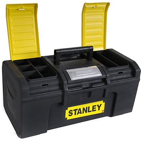 Stanley One Touch Tool Box   19in