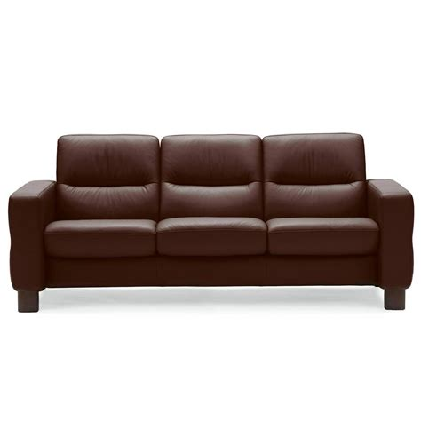 Low Back Reclining Sofa by Stressless Wave Low Back Sofa From 2 995 00 By Stressless