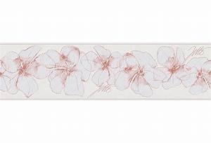 Tapeten Bordüre Weiß : livingwalls jette bord re rosa wei ~ Orissabook.com Haus und Dekorationen