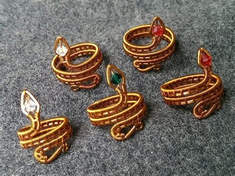 wire snake ring designer handmade jewelry  youtube