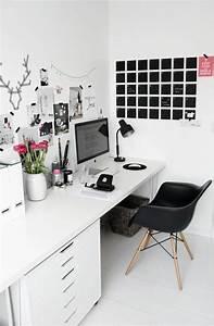 Wandgestaltung Büro Ideen : die besten 25 ikea schreibtisch wei ideen auf pinterest ~ Lizthompson.info Haus und Dekorationen