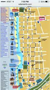 Puerto Vallarta Mexico Map