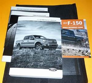 2019 Ford F150 F 150 Owners Manual Set 19 Guide  Case Xl