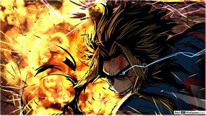 Academia Hero Might Boku Wallpapers Smash United