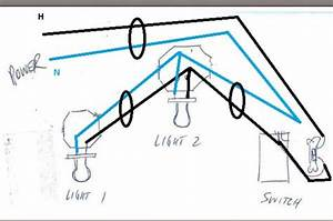 Troubleshooting problem wiring power gt two fluorescent