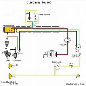 Cub Cadet 100 Wiring Manual