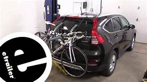 Saris 3 Bike Trunk Rack  Bike Porter Trunk 3 Bike Car Rack