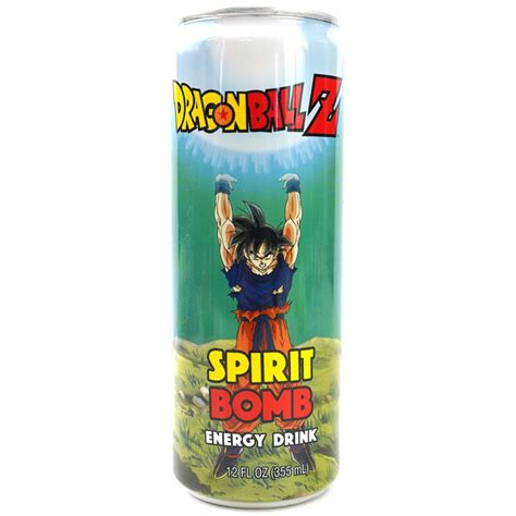 Enerģijas dzērienu DRAGONBALL Z (SPIRIT BOMB), 355ml ...