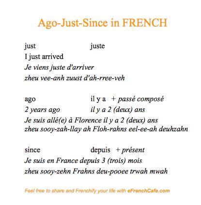 eFrenchCafe | French phrases | Basic french words, French ...