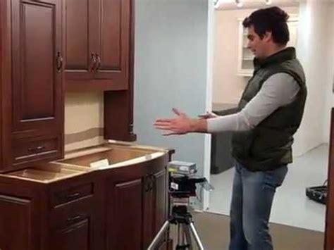 laser measure countertop demonstration