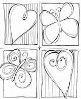 Doodles Zentangles Doodle sketch template