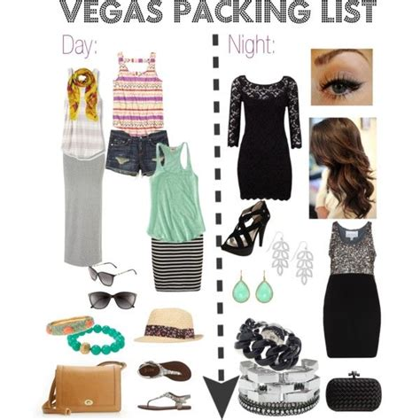 Vegas Packing List - Comfy day clothes for the pool or walking around shoes that can go day to ...