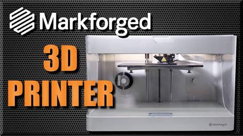 unboxing  prints markforged mark   printer