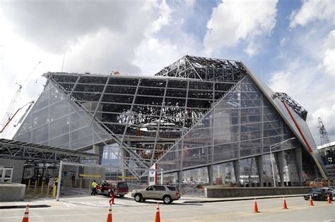 atlantas  mercedes benz stadium  host super bowl liii