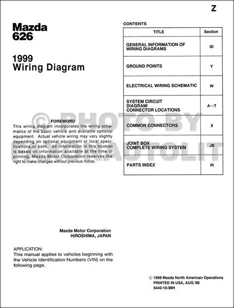 Fuse Box Mazda 626 2000 by Wrg 9159 1997 Mazda 626 Fuse Diagram