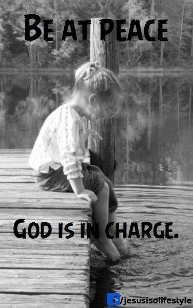 God Is Still in Charge Quotes