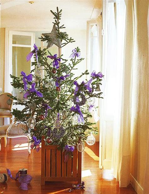 tree decorations ideas 2013 tree decoration blending purple and pink colors