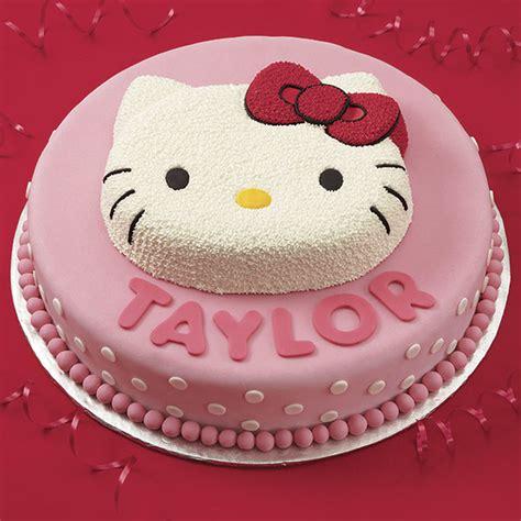 kitty hello cake birthday wilton wlproj theme decorating