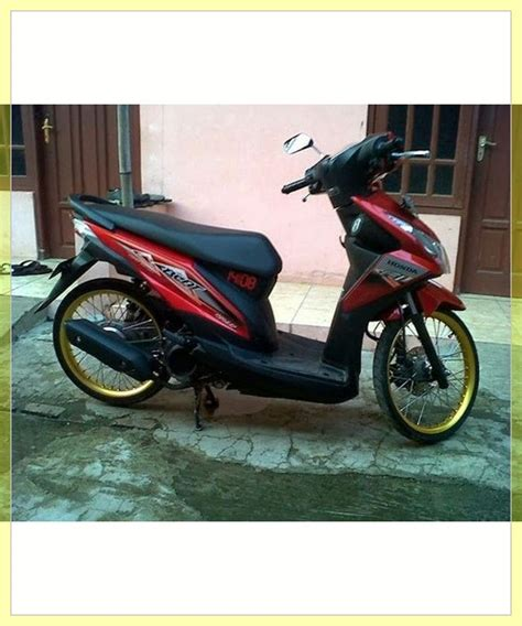 Modif Beat F1 by 37 Cara Modifikasi Beat Sederhana Simple Matic Honda Fi