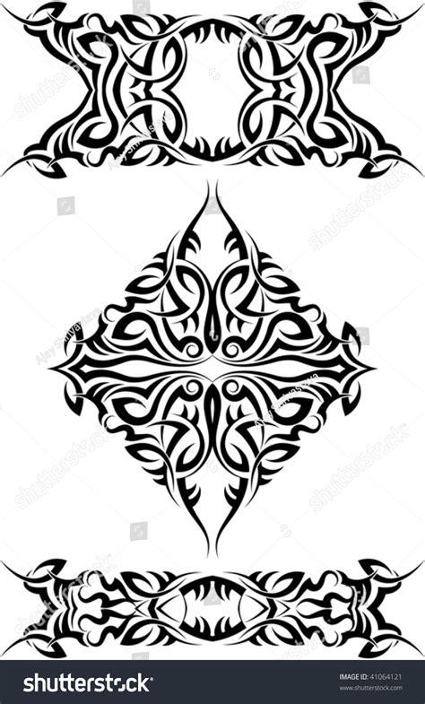 tribal tattoo arm band shoulder  stock vector  shutterstock