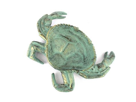 decorator crabs are bottom dwelling or buy antique bronze cast iron crab decorative bowl 7 inch