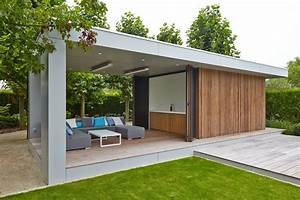 modern poolhouse in trespa en hout bogarden pool house With awesome photo cuisine exterieure jardin 5 abris exterieurs abris de jardin abris bois atelier