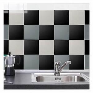 sticker carrelage dans maison achetez au meilleur prix With carrelage adhesif salle de bain avec par 36 led