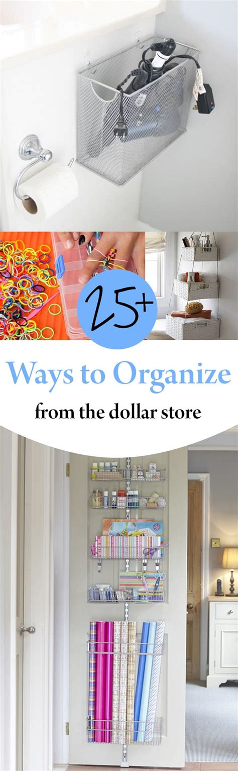 25+ Ways To Organize From The Dollar Store  House Good