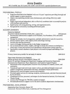 28 best executive assistant resume examples images on With executive assistant objectives