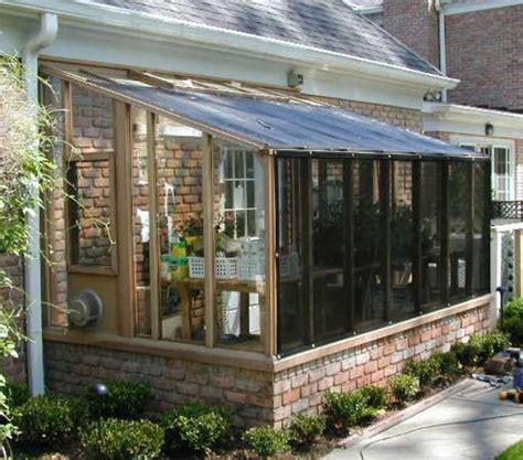 garden sunroom greenhouse gallery enclosed porch