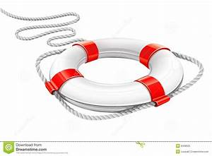 Rescue Circle For Help In Water Royalty Free Stock Photo ...