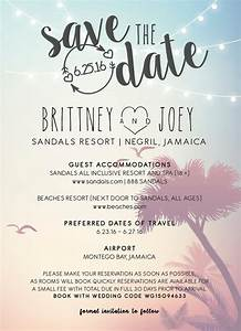 21 ways to incorporate jamaican culture into your With destination wedding save the date ideas