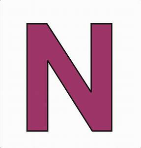 letters n clipart 008 iron on stickers heat transfer With iron on letter stickers