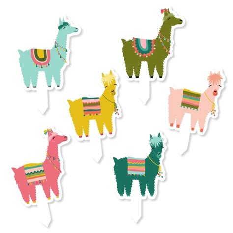 cactus  llama party pack amy robison