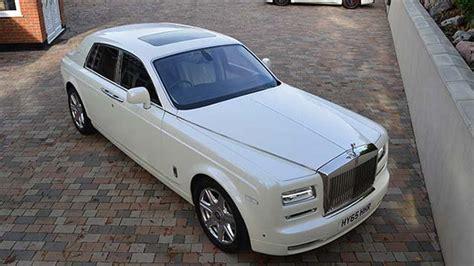 White Rolls-royce Phantom Series Ii Available For Weddings
